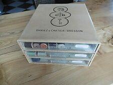 Thiriez Cartier Bresson Meuble de mercerie ou boite à fils  3 tiroirs