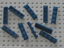 10 x LEGO NavyBlue plate 1x4 ref 3710 / Set 10187 10195 10196 8036 9515 75041...