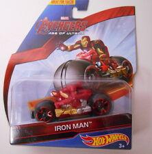 Marvel Avengers Motor Age of Ultron IRON MAN Diecast Car by MATTEL 2014