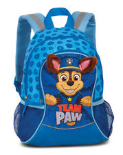 Fabrizio PAW Patrol Rucksack Kinderrucksack Chase mit Stoffohren blau 632
