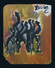 Outsider Artist Purvis Young Signed Original, Paint on Board