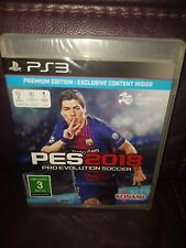 Pro Evolution Soccer 2018 Sony PlayStation 3 PS3 Sealed PAL PREMIUM EDITION