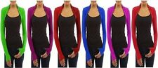 Unbranded Women's Long Sleeve Boleros Shrugs Jumpers & Cardigans
