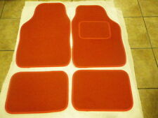 RED CAR MATS INTERIOR CARPET MATS FOR  VW beetle Golf Polo Bora Passat Lupo