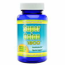 Super Colon Cleanse 1800 Maximum Body Cleansing Detox Weight Loss Pills Diet New