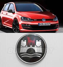 WOLFSBURG LOGO CC TIGUAN JETTA PASSAT BORA MK 3 4 5 6 VW STEERING WHEEL EMBLEM