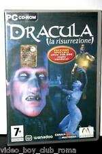 DRACULA LA RISURREZIONE GIOCO USATO OTTIMO STATO PC ED ITALIANA PAL 2 CD 32024