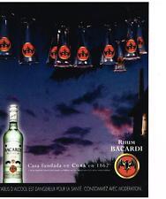 PUBLICITE ADVERTISING  2003   BACCARDI  rhum