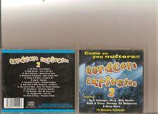 HARDCORE EXPLOSION 2 CD RAVE HAPPY HARDCORE 13 TRACKS