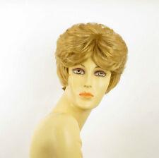 Perruque femme courte blond doré VAL 24B