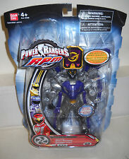 #7571 NRFC Ban Dai Power Rangers RPM Moto Morph Wolf Ranger Figure