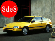 Honda Civic CRX (1988) - Manual de taller en CD