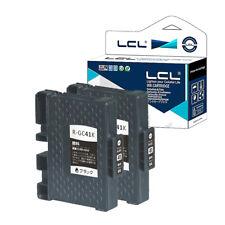 2X Tinta para Ricoh GC-41 GC41 GC41K IPSiO SG2010L SG2100 SG3100 SG7100 3110SFNW