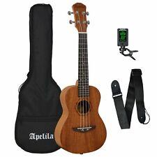 More details for apelila concert ukulele 23 inch uke with bag, strap and tuner