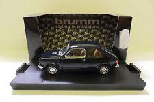 BRUMM 1:43 AUTO DIE CAST FIAT 127 1a SERIE 1971 CARABINIERI BLU SCURO  ART R501