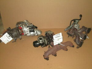 08-09 Dodge Caliber Exhaust Manifold Assembly w/ Turbo 2.4L 68K Miles OEM LKQ