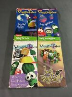 Veggie Tales VHS Lot of 4 Tapes