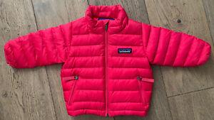 PATAGONIA Down Sweater Puffer Winter Jacket Coat 3-6 Months Pink