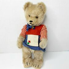 Vintage Schuco Bear Golden Caramel Mohair Yes No Tricky? Bear with Mechanism
