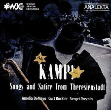 Kamp Songs and Satire from Theresienstadt [New CD]