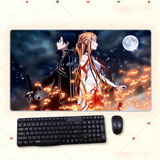 68x38cm Anime Sword Art Online Pad Extra Large DIY Mousepad Mat Gaming Playmat