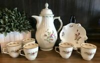Rosenthal Sanssouci 10 Classic Rose Tea Set - 6 Cup Tea Pot