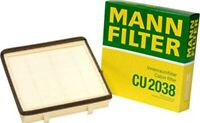 Mann Interior Cabin Pollen Filter Replacement CU 2038 Car Part Seat Volkswagen