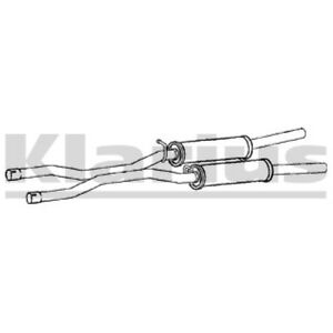 1x KLARIUS OE Quality Replacement Middle Silencer Exhaust For AUDI Diesel