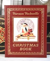 NORMAN ROCKWELL'S CHRISTMAS BOOK  - Easton Press -    SCARCE