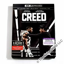 Creed 4K Ultra HD/Blu-ray/Digital HD New Michael B. Jordan Sylvester Stallone