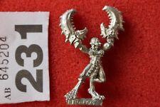 Games Workshop Daemonettes de Slaanesh demonio Metal Figura Fantasía 1990s fuera de imprenta A1