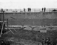 Coffins Open Graves Lincoln Conspirators Execution - 8x10 US Civil War Photo