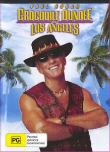 Crocodile Dundee 3 In Los Angeles DVD Paul Hogan New & Sealed Australian Release