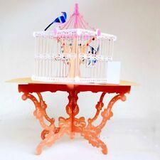 3D Handmade Pop Up Lucky Bird Cage Greeting Happy Birthday Invitations Card #GO6