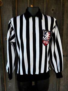 Men's Crossbar Official USA Hockey 2002-2003 Striped Acrylic Referee Shirt MD