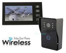 """Videoportero Video Portero Sin Cables Camara Monitor 7"""" Vision Nocturna Timbre"""