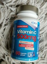 Forza  Vitamin C 500mg Capsules / helps to reduce tiredness and fatigue.