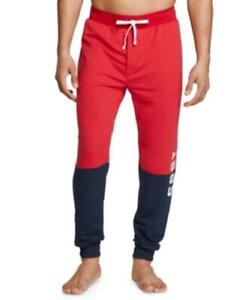 MSRP $59 Th Modern Essentials Colorblocked Jogger Pajama Pants Red Size XL