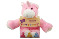 Hot & Cold Liddle Ones Microwavable Silicone Filled Pack Cuddle Unicorn Buddy