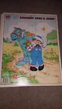 Raggedy Ann & Andy Camel with the Wrinkled Knees 25 pc Frame Tray Puzzle 1987
