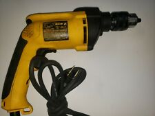 "DeWalt Hammer Drill Dw511 Vsr 1/2"" Corded Tool For Parts."