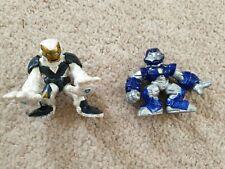Playskool Hero Squad White and Blue Iron Man Figures