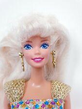 Vintage 1995 Jewel Hair Mermaid Barbie Mattel Doll