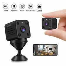 Mini Camera - CUSFLYX Tiny Portable 1080P WiFi Full HD Nanny Pet Office Sports