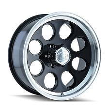 "16"" ION 171 Black Wheels Rims 6x5.5 6 Lug Chevy GMC 1500 Toyota Truck"