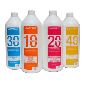 Matrix SoColor Cream Developer - Choose  16 oz or 32 oz Developer