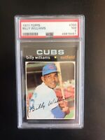 1971 TOPPS #350 PSA 7 BILLY WILLIAMS HOF CHI CUBS— QUALITY EXAMPLE💥*** (wph)