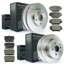 Bremsscheiben + Bremsbeläge vorne + hinten Toyota RAV 4 II mit ABS bis BJ 10.05