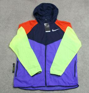 ✅ Nike Men's Reflective Windrunner Running Jacket Size 2XL NWT AR0257-518
