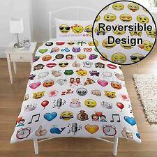 Emoji multi simple Ensemble de couverture & taie d'oreiller couette LITERIE -